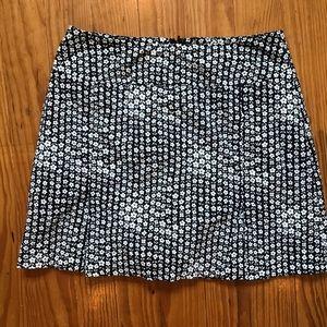 Floral Festival Boho Mini Skirt w built in Shorts